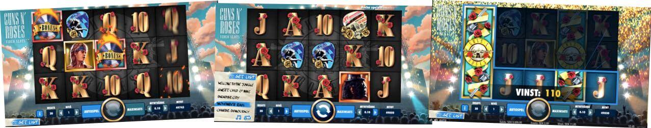 Guns N' Roses casino spel