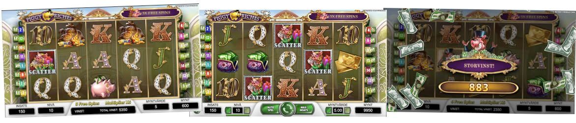 Piggy Riches casino spel