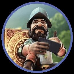 Spela Gonzo'z Quest på SpeedyCasino