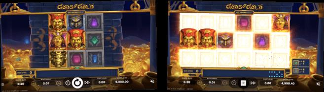 Spela Gods of Gold gratis