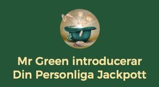 Omslagsbild personlig jackpott hos Mr Green