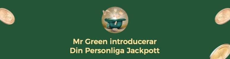 Personlig jackpott hos Mr Green