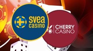 Den 18 maj stängs konton ned på Cherry casino och Sveacasino