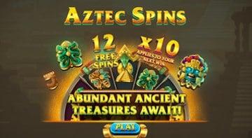 Omslag nya Aztec Spins