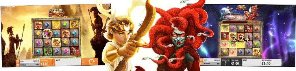 Spela Artemis VS Medusa gratis
