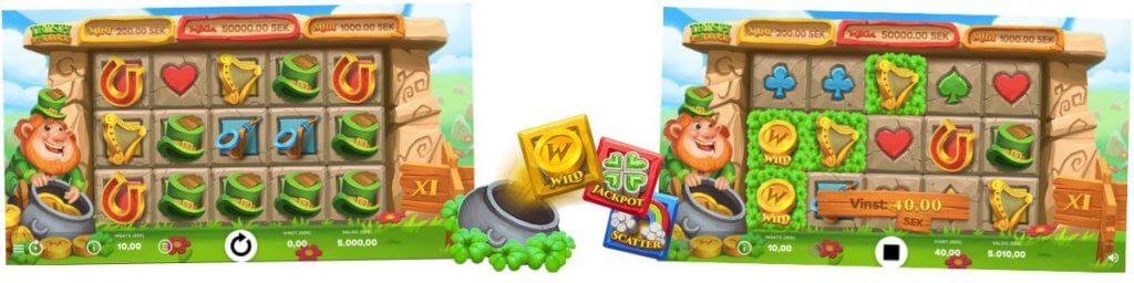 Spela Irish Pot Luck gratis