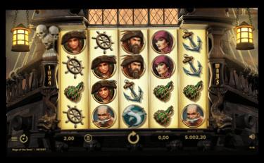 Rage of the Seas bonus