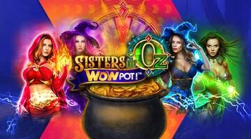 Sisters of Oz slot från Microgaming