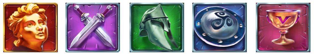 Hammer of Vulcan symboler