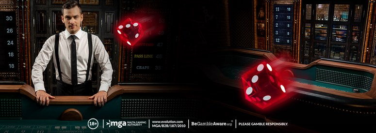 Nu kan du spela Live Craps hos LeoVegas Casino.