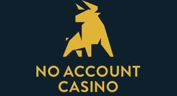 No Account Casino - nyhetsbild