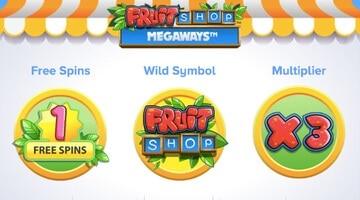 Ny slot - Fruit Shop Megaways