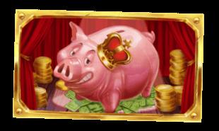 Mega spargris i Piggy Bank Farm bonusspel