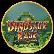 Dinosaur Rage slot logga