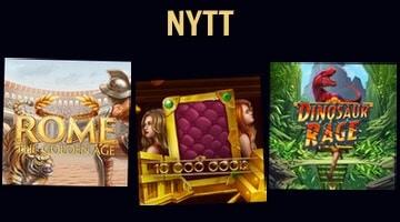 3 nya slots