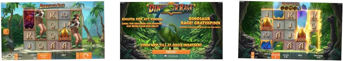 Skärmbild från Dinosaur Rage gratis spel