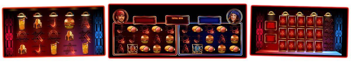 Skärmbilder från Hell's Kitchen gratis demospel.