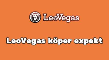 Nyhet: LeoVegas köper expekt