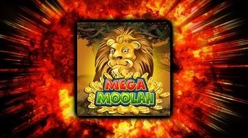 Glödhet jackpott på Mega Moolah