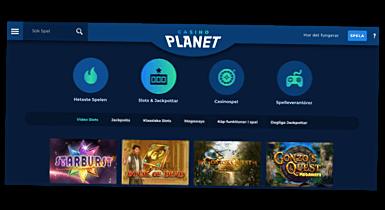 Skärmbild Casino Planet casino spel