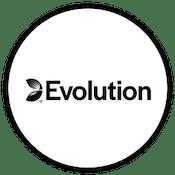 Logga speltillverkaren Evolution