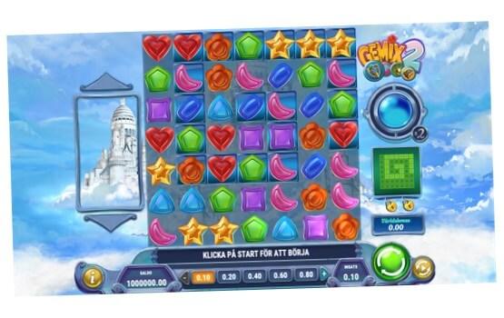 Spelar Gemix 2 gratis i demospel