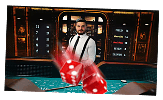 Craps i Buster Banks live casino