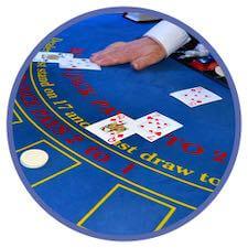 Korträkning vid blackjackbordet