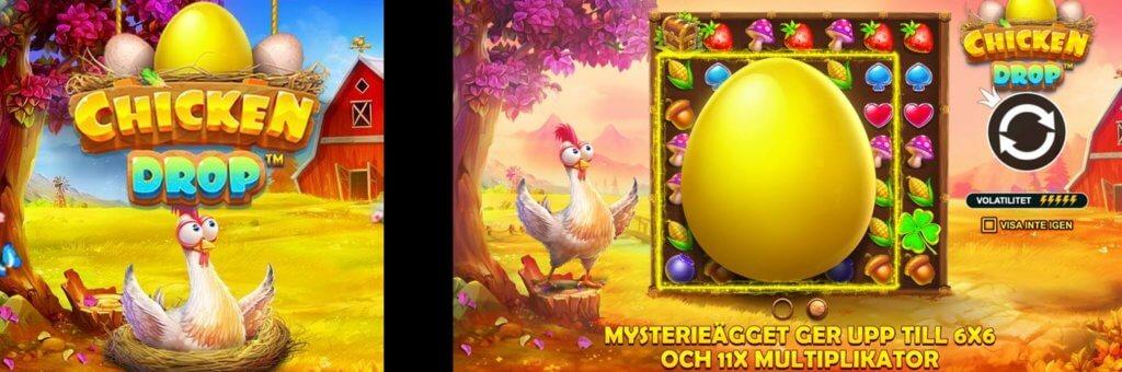 Chicken Drop slot från Pragmatic Play