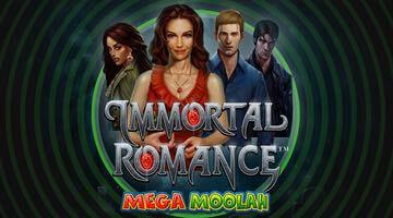 Nya sloten Immortal Romance med Mega Moolah