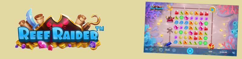 Slot Reef Raider dari NetEnt