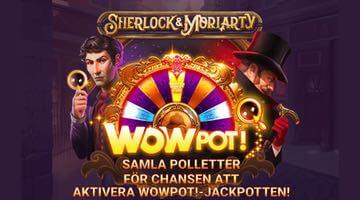 Sherlock & Moriarty WowPot slot