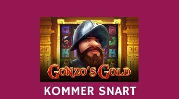 Nya spelet Gonzo's Gold