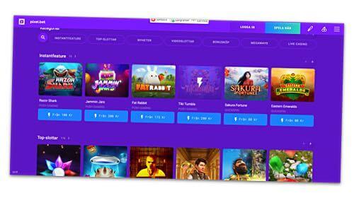 Skärmbild Pixel.bet casino