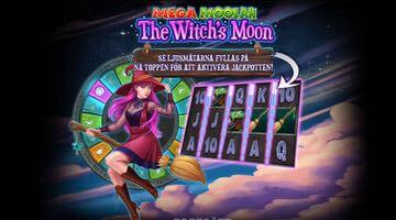Nytt jackpottspel: The Witch's Moon Mega Moolah